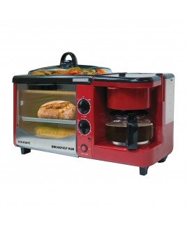 Courant 3-IN-1 Multifunction Breakfast Hub - Red