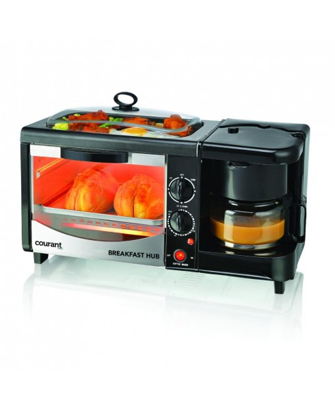 Courant 3-IN-1 Multifunction Breakfast Hub - Black