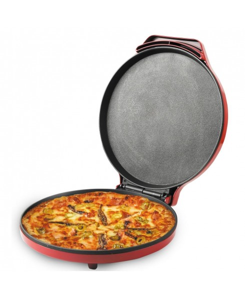 Courant 12 Inch Electronic Pizza Maker, Red