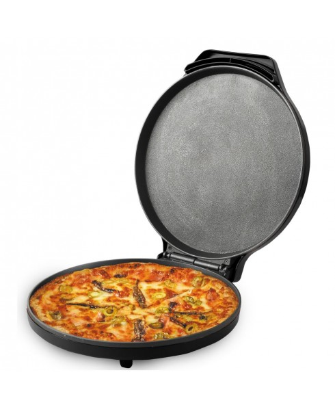 Courant 12 Inch Electronic Pizza Maker, Black