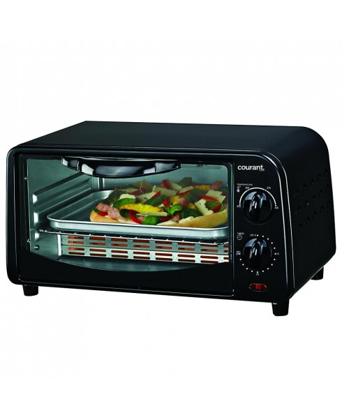 Courant Countertop Toaster Oven, Black