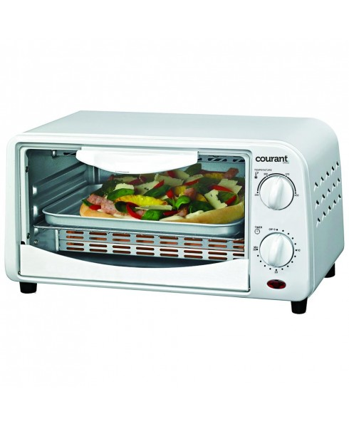 Courant Countertop Toaster Oven, White