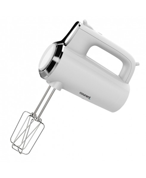 Courant 250W 5-Speed Hand Mixer - White
