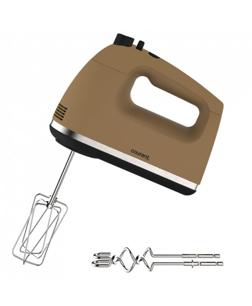 Courant 250W 5-Speed Hand Mixer - Brown