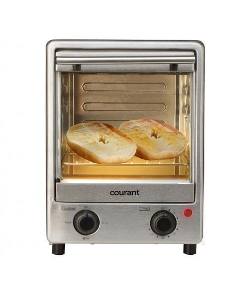 Courant Toastower™ 900W 4-Slice Toaster Oven