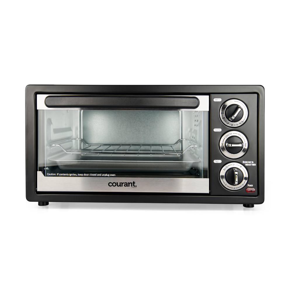 Courant 6 Slice Toaster Oven With Convection Amp Broil Functions