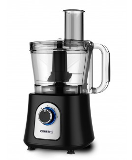Courant 12 Cup Food Processor - Black