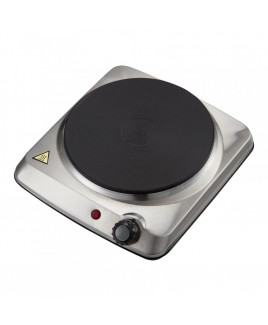 Courant 1000 Watts Portable Single Electric Burner, Stainless Steel Design