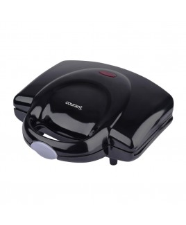 Courant 2-Slice Compact Sandwich Maker, Black