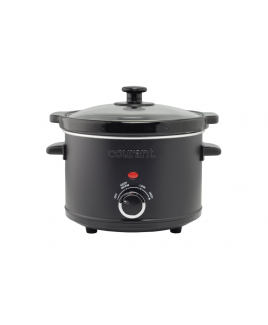 Courant 2.5 Quart Slow Cooker - Black Matte