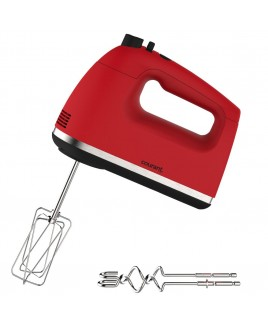 Courant 250W 5-Speed Hand Mixer - Red