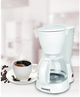 Courant 8 Cup Coffee Maker, White