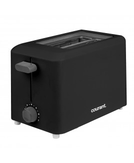 Courant Cool Touch 2-Slice Toaster, Black