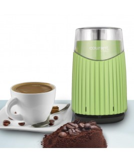 Courant Coffee Mill Coffee, Beans & Spices Grinder, Green