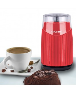 Courant Coffee Mill Coffee, Beans & Spices Grinder, Red