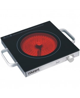 Courant Ceramic Glass Cooktop - 1500W, Stainless Steel