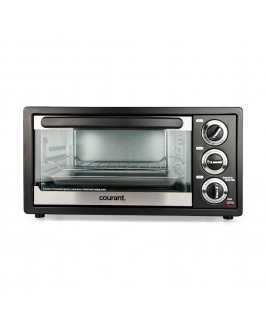 Courant 6-Slice Toaster Oven with Convection & Broil functions